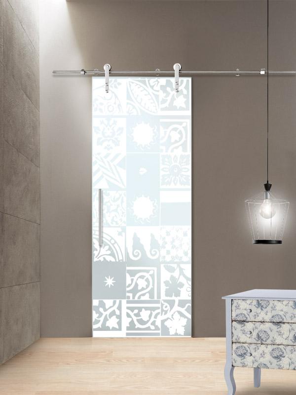 Porte vetro scorrevole tekno esterno muro il vetraio - Porte a vetro scorrevoli esterno muro ...